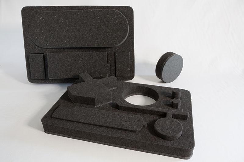 Imballaggio in poliuretano espanso flessibile