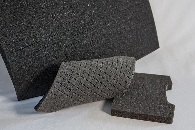Imballaggi Pick&Pluck in poliuretano espanso flessibile