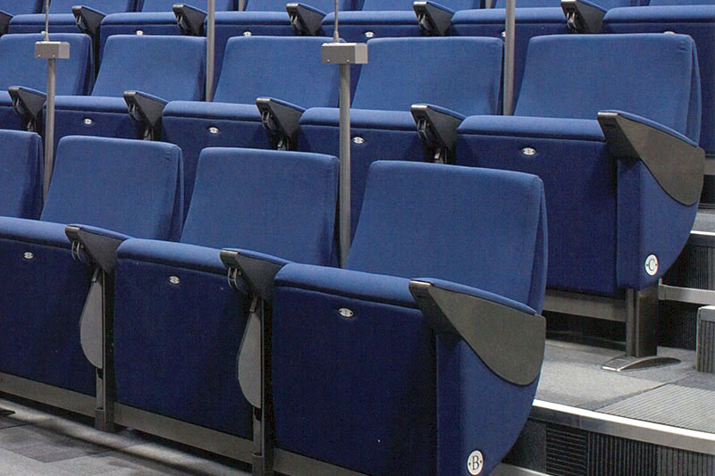 Imbottiture per poltrone centro congressi