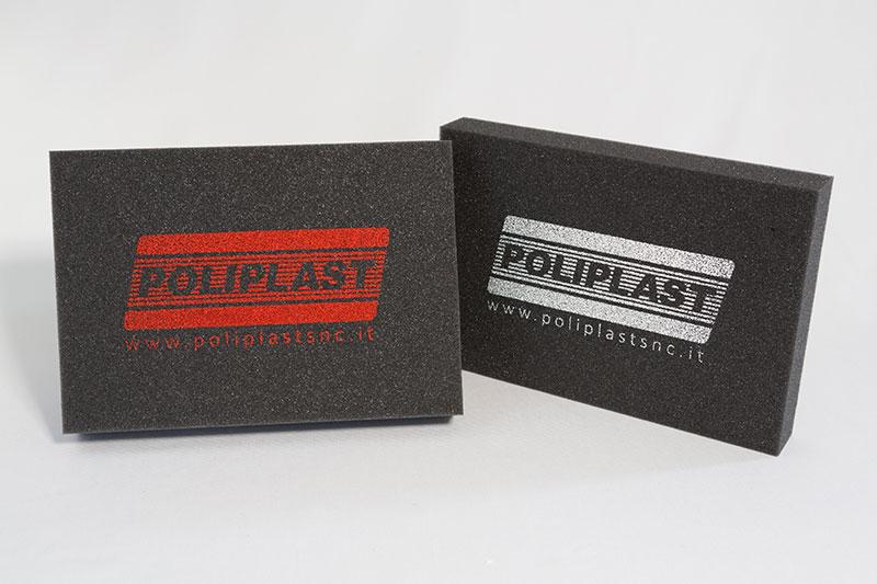 Imballaggi in poliuretano serigrafati