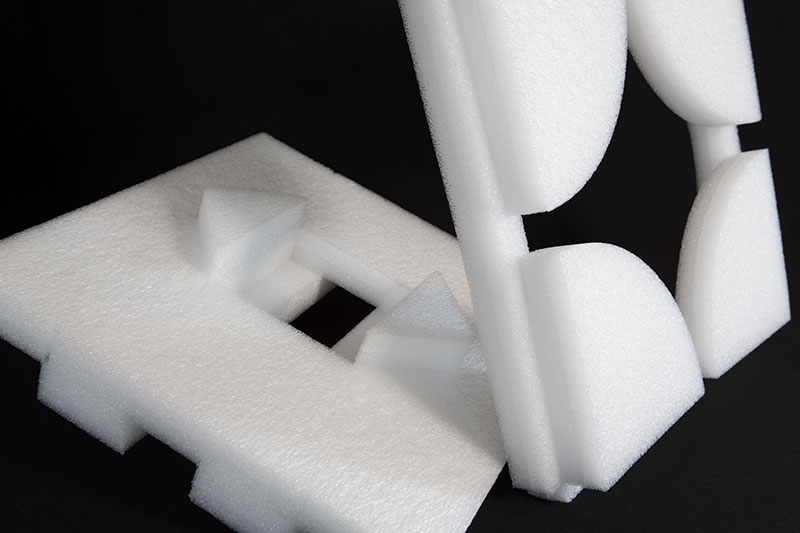 Imballaggio in polietilene espanso a cellula chiusa