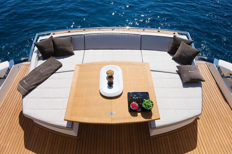 Dinette barca imbottiture nautica