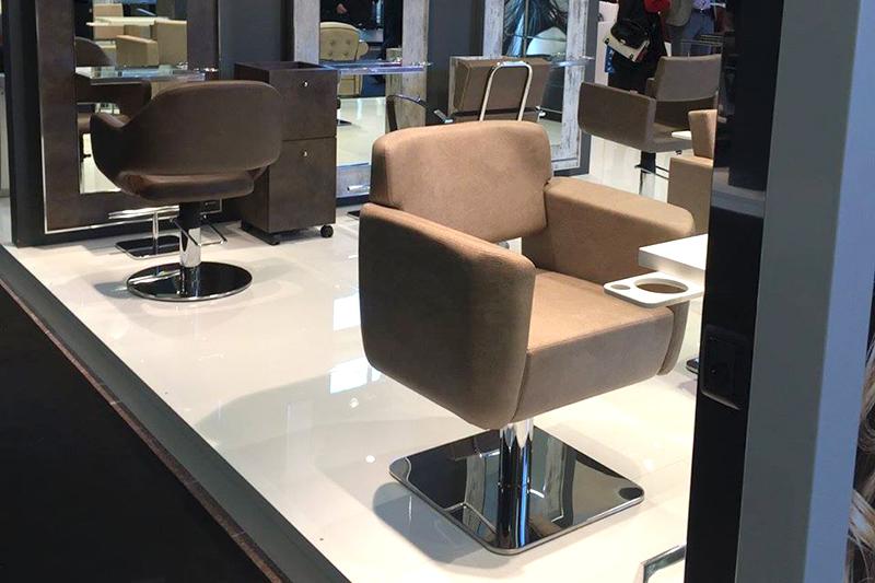 Poltrona parrucchiere salone