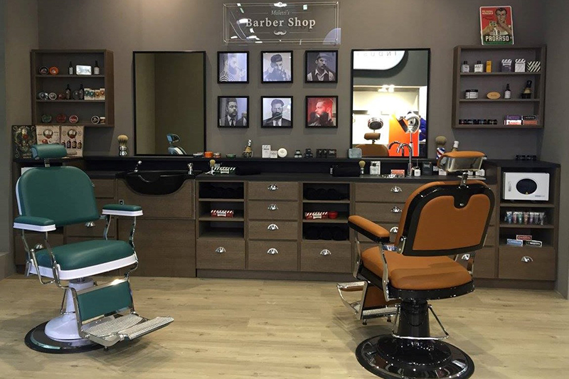Poltrona uomo barber shop
