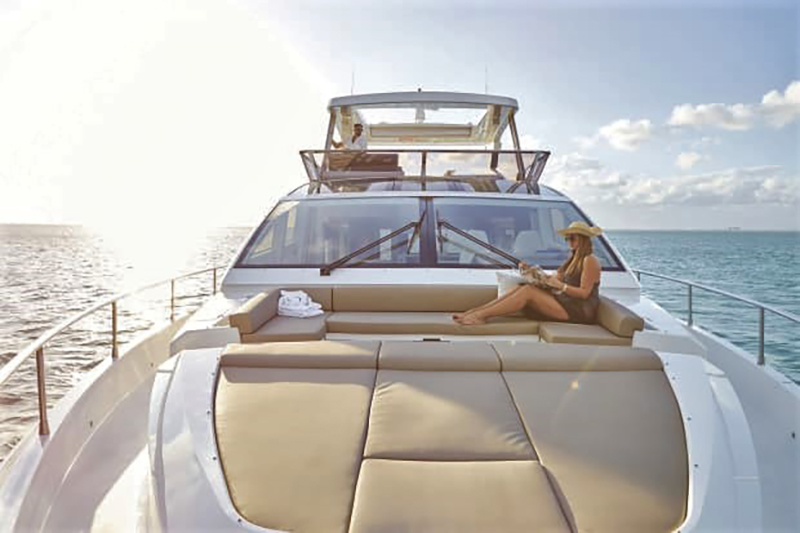 Prendisole yacht imbottiure nautica