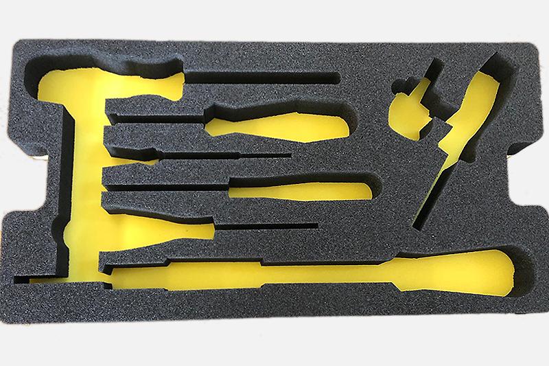 Imballaggio polietilene bicolore giallo-nero